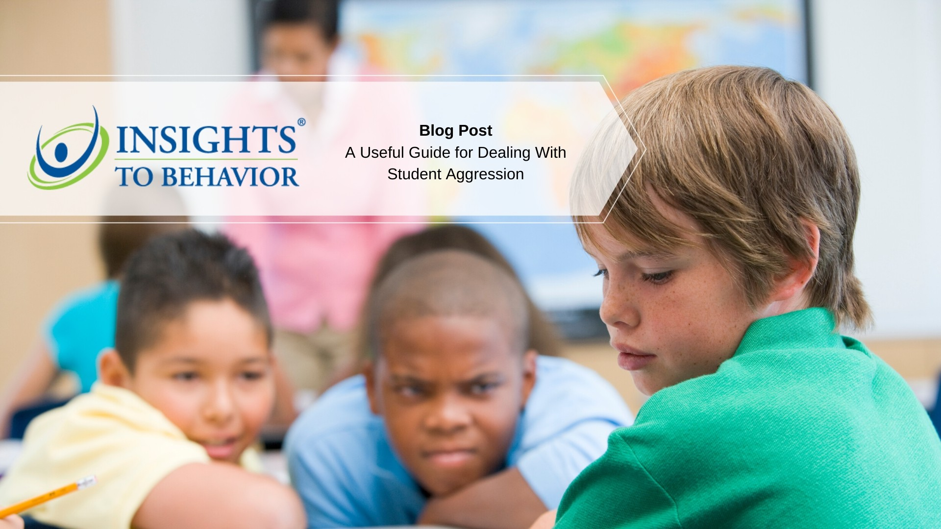 A useful guide for dealing with student aggression in the classroom.